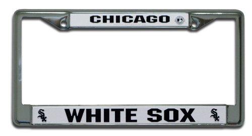 Chicago White Sox MLB Chrome License Plate Frame