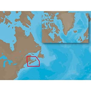 C-MAP NT NA-C205 - Fundy, Nova Scotia, Pei & Cape Breton - Furuno FP-Card