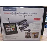 New Bunker Hill Wireless Surveillance System 62368 4 Channel Security System