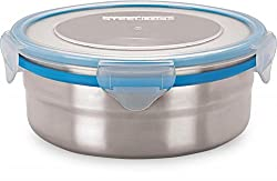 Steel Lock SL-1401 Airtight Storage / Food Lock Steel Containers 700 ml