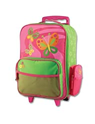Stephen Joseph Butterfly Luggage, Multi Color
