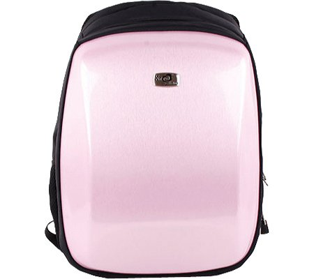 Kroo 15.6-Inch Pink Steel Slim Candy Backpack