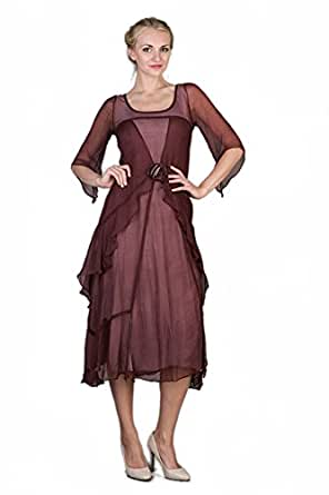 Style great gatsby dress in garnet at amazon women s clothing store