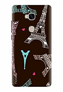 Noise Printed Back Cover Case for Huawei Honor 5X