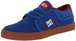 DC RD Grand Skate Shoe (Little Kid/Big Kid),Blue/Red,4 M US Big Kid