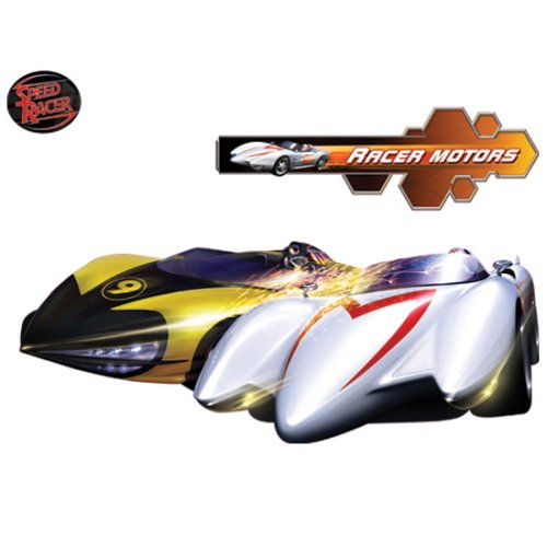 Wall Graphix: Child Speed Racer Sparks front-268139