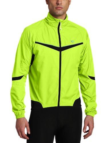 Pearl Izumi Elite Barrier Men's Cycling Jacket - Screaming Yellow/Black, X-Large