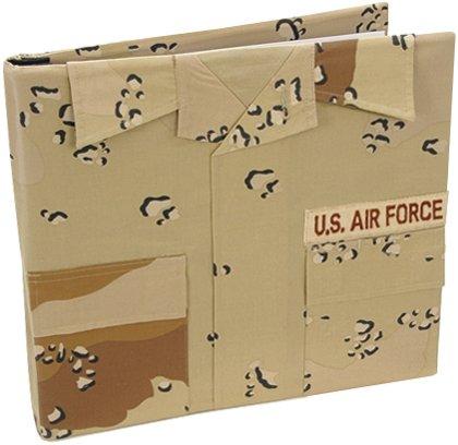 Uniformed U.S. Air Force Desert Battle Dress Uniform Keepsake Album