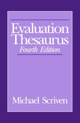 Evaluation Thesaurus