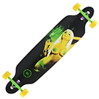 Cruiser Through 9.5x42 Longboard Skateboard Complete by Backfire Skateboards Group