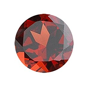 4.21 Cts of 10x10 mm Round Loose Garnet (1 pcs ) Gemstone