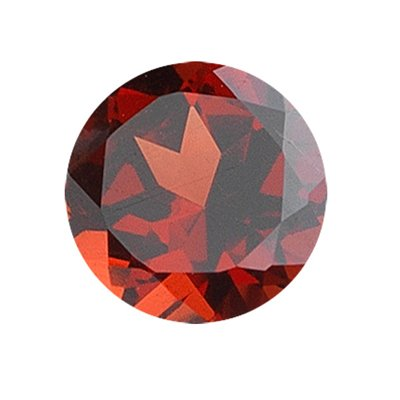 4.21 Cts of 10x10 mm Round Loose Garnet (1 pcs