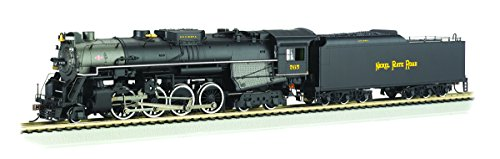 Bachmann 2-8-4 Berkshire Steam Locomotive & Tender -- Dcc Sound Value Equipped Nickel Plate #765 - Railfan Version - Ho Scale front-402520