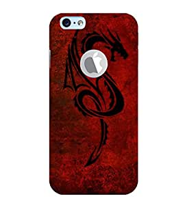 Vizagbeats chinese dragon Back Case Cover for Apple iPhone 6 logo cut