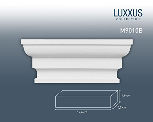 Capitello da pilastro per sistema Byblos Orac Decor M9010B LUXXUS