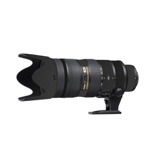 LensSkins Black Carbon Fiber for Nikon 70-200mm f/2.8G AF-S ED VR II (N70200V2BF)
