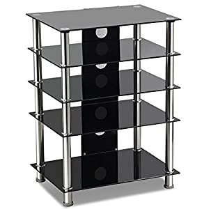 Buying Guide of  Popamazing  Glass TV Stand 14″-32″ PLASMA LCD LED TVs