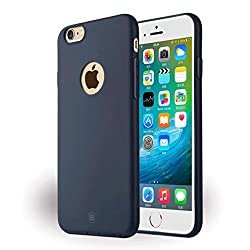 Mousse Case For Apple iPhone 6S & 6 4.7 inch Back Cover Case Soft Super TPU Thin Case Blue Color