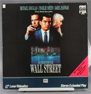 Wall Street Laserdisc - 1