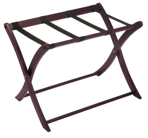 Winsome Wood Luggage Rack, Espresso.