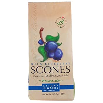 Sticky Fingers Blueberry Scone Mix