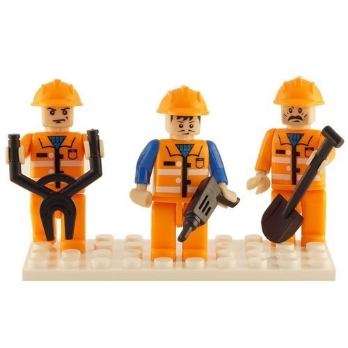 Brictek Figures - Construction (3 Figures)