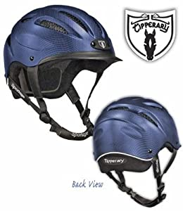 Tipperary Sportage Equestrian Sport Helmet, Large, Cocoa Brown