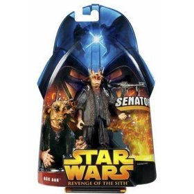 Star Wars Episode III Revenge of the Sith Ask Aak figure