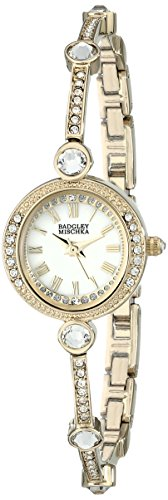 badgley-mischka-womens-ba-1350wmgb-swarovski-crystal-accented-gold-tone-bangle-watch