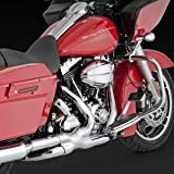 Vance & Hines 16849 Power Duals Head Pipes for 2010+ Harley-Touring Models (VH 16849)