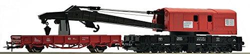 Roco 56240 Wagon-grue avec wagon de protection de la DB AG, voie H0