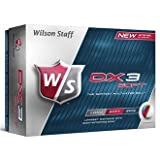 Wilson Staff Dx3 WGWP27400 Men's Golf Balls Soft White
