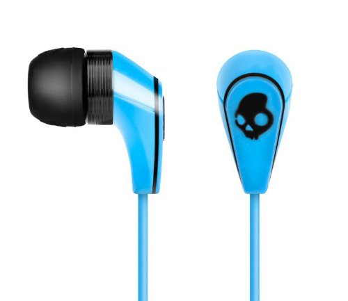 50/50- Mic'D Shuffle Control Mic 3/ Db In Ear Buds In Shoe Blue By Skullcandy