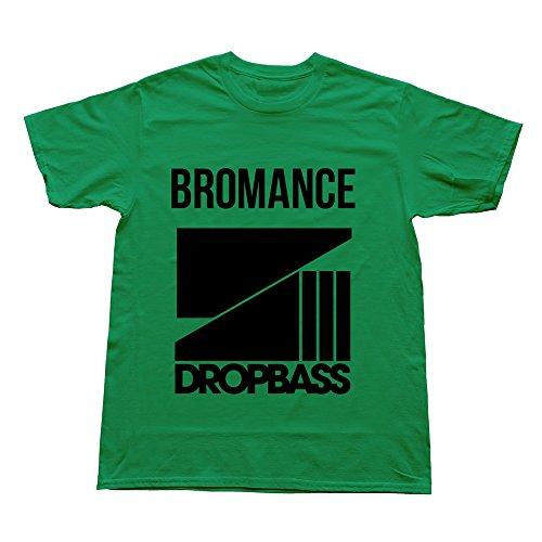 Goldfish Men'S Art O Neck Dropbass T-Shirt Kellygreen Us Size S