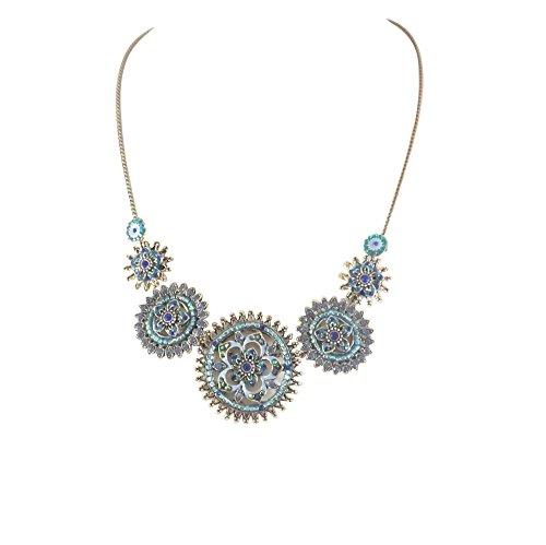 bcbg-collier-plastron-vincent-filac-en-metal-argente-serties-de-cristaux-swarovskir-et-pierres-semi-