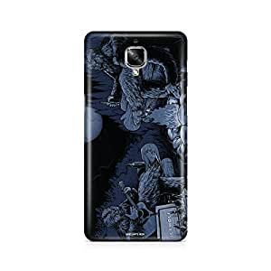 Motivatebox - Oneplus three - 3 Back Cover - Bigfoot Camping Polycarbonate 3D Hard case protective back cover. Premium Quality designer Printed 3D Matte finish hard case back cover.