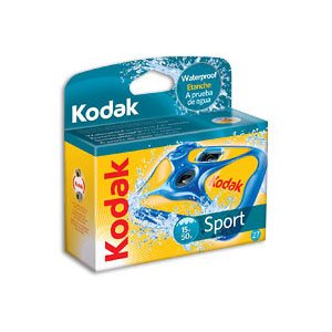 Kodak Sport Waterproof Disposable Camera - 27 Exposures 3 Pack