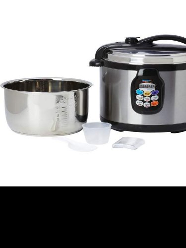 Precise Heat 6.3qt (6l) Electric Pressure Cooker