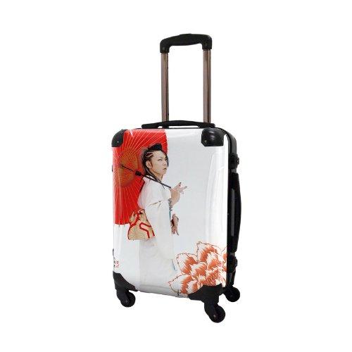 キャラート アートスーツケース 広純 HIROZUMI フレーム4輪 機内持込 J10104