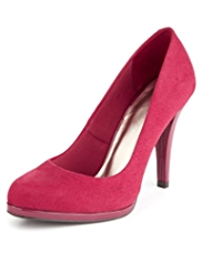 M&S Collection Stiletto High Heel Platform Court Shoes