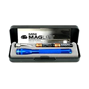 MAGLITE M3A112 Presentation Box AAA Mini Flashlight, Blue