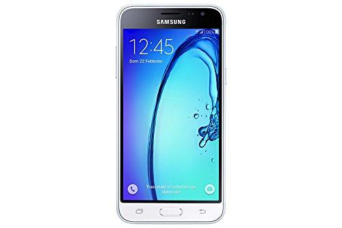 Samsung J320 Galaxy J3 (6) Smartphone da 8GB, Bianco [Italia]