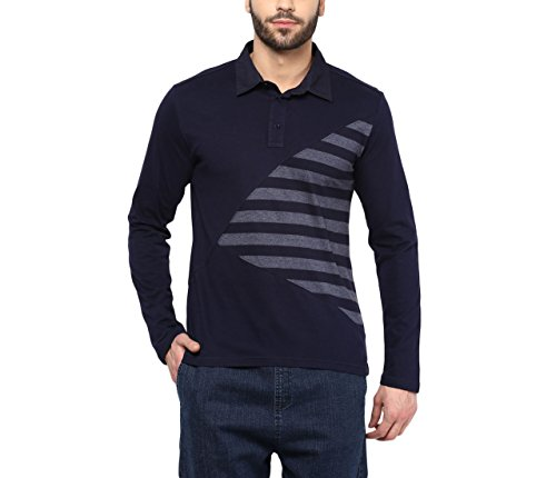 Hypernation-Blue-Color-Mixed-and-Match-Cotton-Polo-T-shirt