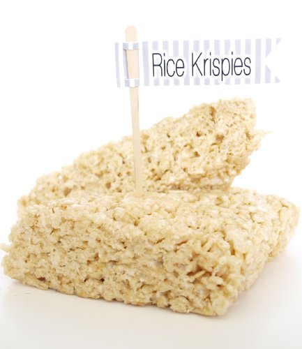 """Rice Krispies"" Dipping Skewer, Silver (Set Of 12) - Use To Add Flavored Syrups Like Caramel, Chocolate, And Strawberry front-794525"