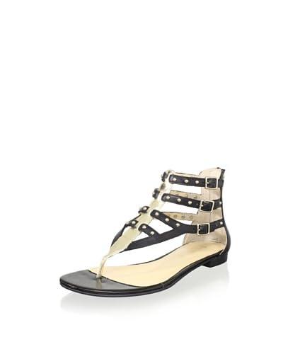 ENZO ANGIOLINI Women's Tobyn Multi Buckle Sandal