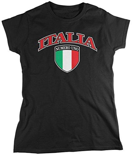 italia-crest-italian-pride-italy-flag-shield-womens-t-shirt-amdesco-black-2xl