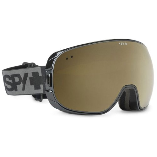 Spy Optic Doom Goggles, Black, Bronze/Silver Mirror (+Persimmon Contact) Lenses
