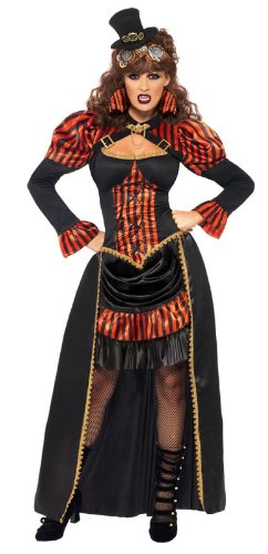 Smiffy's Steam Punk Victorian Vampiress Costume