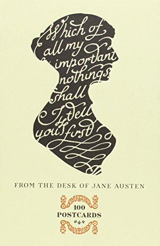 From the Desk of Jane Austen 100 Postcards /Anglais