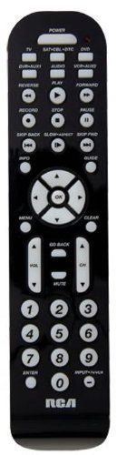 Remote Controls: RCA 6 Device Universal Remote with DBS Support ...
